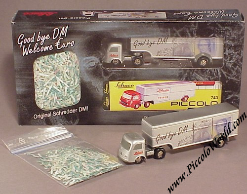 Cars Mercedes Searchlight Truck Thw Searchlight Truck 1:90 Schuco Piccolo Traveling