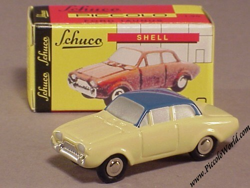 #05241 Schuco Ford Capri Orange 1:90 Piccolo