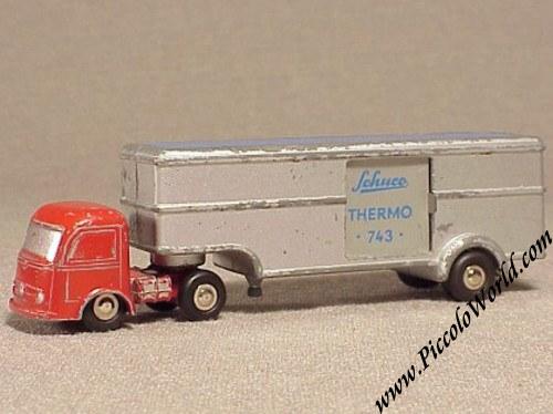 Mercedes Searchlight Truck Thw Searchlight Truck 1:90 Schuco Piccolo Traveling Automotive