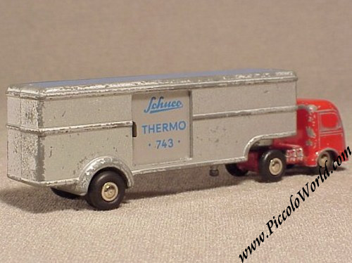 Model Building Mercedes Searchlight Truck Thw Searchlight Truck 1:90 Schuco Piccolo Traveling